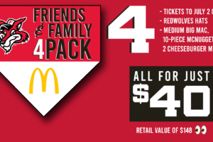 RedWolves announce McDonald's Friends and Family 4-Pack